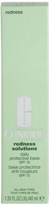 Clinique Redness Solutions crema protectectoare cu efect calmant ce reduce roseata pielii 3