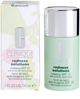 Clinique Redness Solutions make up lichid  SPF 15 1