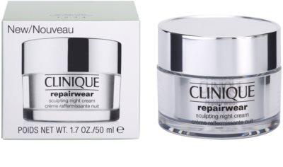 Clinique Repairwear crema remodelatoare de noapte fermitatea fetei si gatului 2