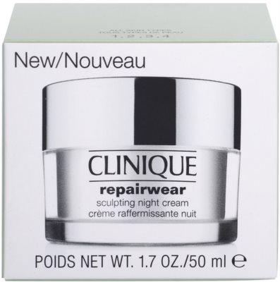 Clinique Repairwear crema remodelatoare de noapte fermitatea fetei si gatului 3