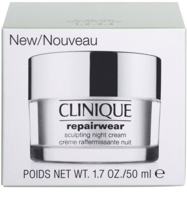 Clinique Repairwear ремоделиращ нощен крем на лицето и шията 3
