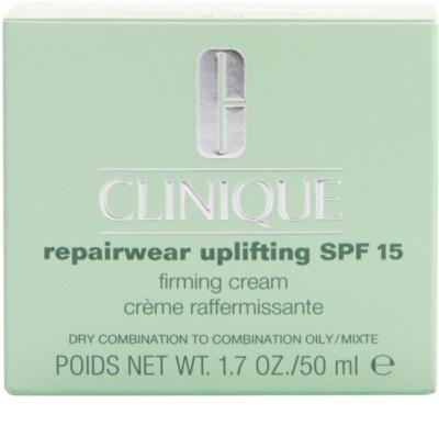 Clinique Repairwear Uplifting creme antirrugas refirmante SPF 15 2