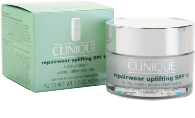 Clinique Repairwear Uplifting crema facial reafirmante SPF 15 3