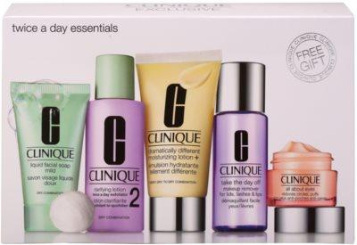 Clinique Twice a Day Essentials kozmetični set I.