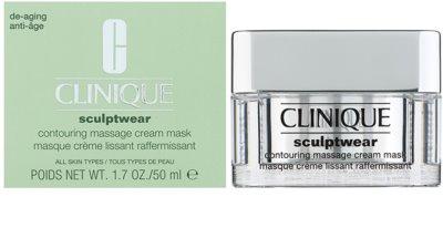 Clinique Sculptwear konturierende Massage-Maske 1