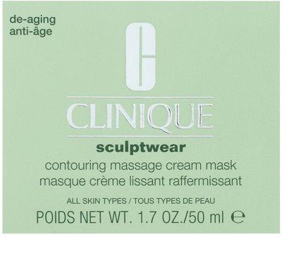 Clinique Sculptwear konturierende Massage-Maske 2