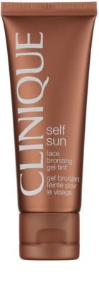 Clinique Self Sun samoopalovací gelový krém na obličej