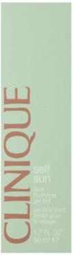 Clinique Self Sun gel crema bronzanta pentru fata 2