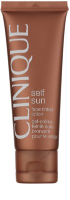 Clinique Self Sun mleczko tonujące do twarzy