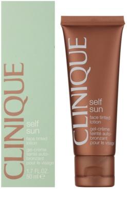Clinique Self Sun mleczko tonujące do twarzy 1