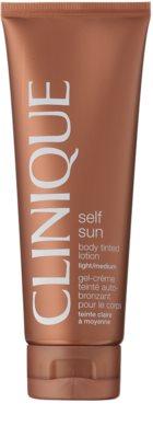 Clinique Self Sun lotiune autobronzanta pentru corp