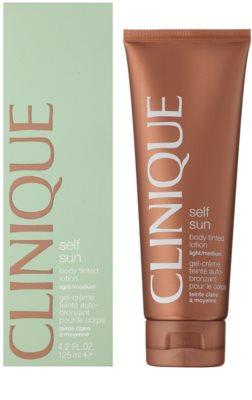 Clinique Self Sun lotiune autobronzanta pentru corp 1