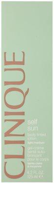 Clinique Self Sun lotiune autobronzanta pentru corp 2