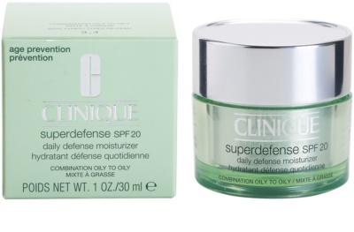 Clinique Superdefense creme de dia protetor e hidratante para pele mista e oleosa 3