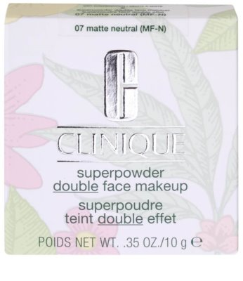 Clinique Superpowder Double Face kompaktní pudr a make-up 2 v 1 2