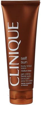 Clinique Self Sun автобронзант мляко за тяло