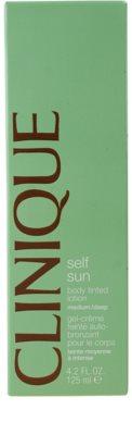 Clinique Self Sun samoopalovací tělové mléko 2