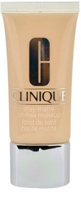 Clinique Stay Matte folyékony make-up kombinált és zsíros bőrre