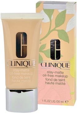 Clinique Stay Matte Flüssiges Make Up für fettige und Mischhaut 1
