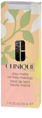 Clinique Stay Matte Flüssiges Make Up für fettige und Mischhaut 2