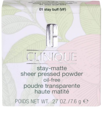 Clinique Stay Matte Gloss (Grease) Absorbing Powder For Oily Skin 3