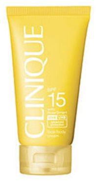 Clinique Sun крем для засмаги SPF 15