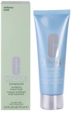 Clinique Turnaround máscara iluminadora para todos os tipos de pele 1