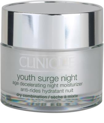 Clinique Youth Surge crema de noche hidratante para pieles secas y mixtas