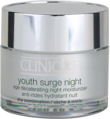Clinique Youth Surge nawilżający krem na noc do skóry suchej i mieszanej