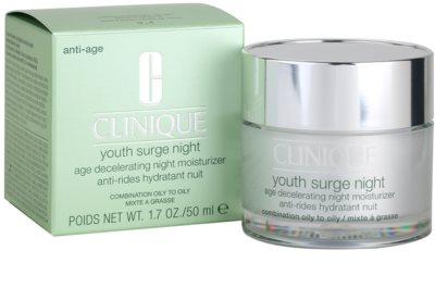 Clinique Youth Surge crema de noche hidratante para pieles mixtas y grasas 3