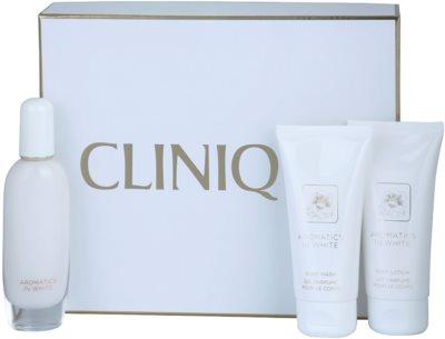 Clinique Aromatics In White coffret presente