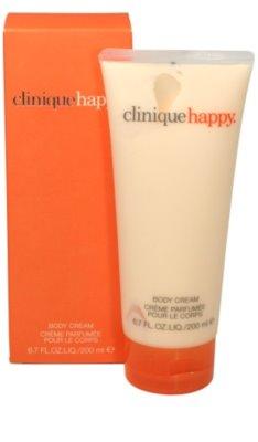 Clinique Happy crema corporal para mujer