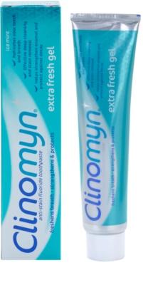 Clinomyn Extra Fresh Gel gel dental con fluoruro 1