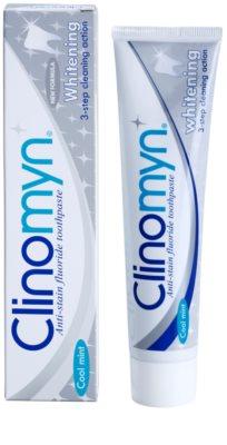 Clinomyn Whitening zobna pasta za beljenje zob 1