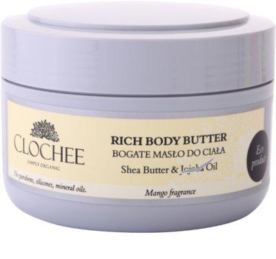 Clochee Simply Organic Manteiga corporal hidratante