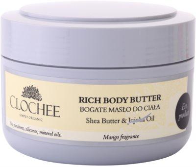 Clochee Simply Organic подхранващо масло за тяло