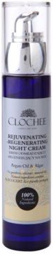 Clochee Simply Organic regenerační noční krém s omlazujícím účinkem 1