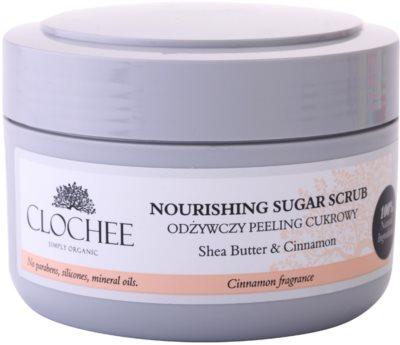 Clochee Simply Organic exfoliant din zahar pentru corp