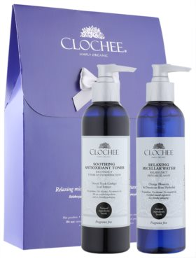 Clochee Simply Organic zestaw kosmetyków I.