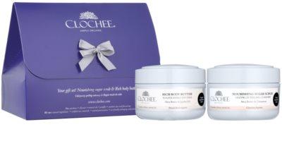 Clochee Simply Organic zestaw kosmetyków IV.