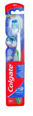 Colgate 360°  Surround + Whitening escova de dentes soft