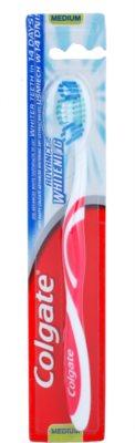 Colgate Advanced White escova de dentes medium