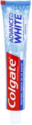 Colgate Advanced White Pasta de albire a dintilor impotriva petelor de pe smaltul dintilor.