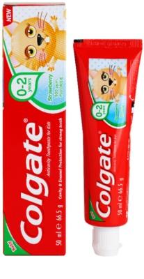 Colgate Baby Zahnpasta für Kinder 2