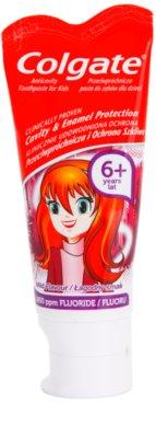 Colgate Cavity & Enamel Protection 6+ Years pasta de dientes para niños con fluoruro