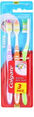 Colgate Extra Clean Zahnbürste Medium 3 pc