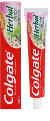 Colgate Herbal Gums fogkrém gyógynövényekkel az egészséges fogakért és ínyért 1