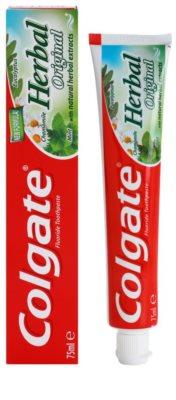 Colgate Herbal Original zeliščna zobna pasta 1