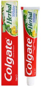 Colgate Herbal White pasta dental con hierbas con efecto blanqueador 1