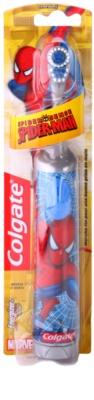 Colgate Kids Spiderman Escova de dentes com bateria para crianças extra suave